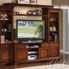 Traditional Media Storage by GreatFurnitureDeal