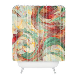 DENY Designs - Jacqueline Maldonado Rapt Shower Curtain - Who says bathrooms can't be fun? To get the most bang for your buck, start with an artistic, inventive shower curtain. We've got endless options that will really make your bathroom pop. Heck, your guests may start spending a little extra time in there because of it!