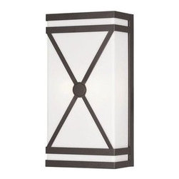Livex Lighting - Livex Wall Sconces Wall Sconce Bronze -9415-07 - Livex products are highly detailed and meticulously finished by some of the best craftsmen in the business