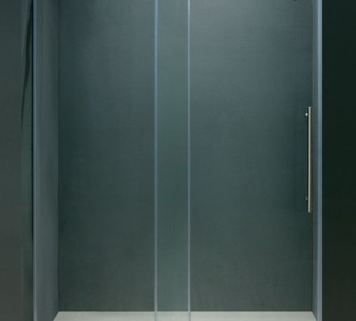 Vigo Industries - 72 in. Frameless Clear Glass Shower Door with Chrome Hardware - This Vigo clear shower enclosure adds a touch of elegance and luxury to any bathroom.