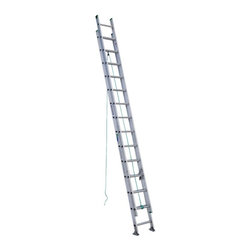 Werner - Werner D1228-2 28 ft. Aluminum Extension Ladder Multicolor - 3721-5613 - Shop for Ladders from Hayneedle.com! Whether working residential or commercial jobs the Werner D1228-2 28 ft. Aluminum Extension Ladder offers a safe and stable way to get to hard to reach tasks. Its heavy duty aluminum construction makes it durable and easy to transport. A smooth operating pulley system and spring loaded locks makes for easy extension. Traction Tred D-rungs offer sure footing while Alflo technology offers twist-free and stable use.About WernerWerner is an industry leader that has manufactured and distributed ladders and climbing equipment for over 60 years. Werner ladders are found on more trucks and job sites than all other brands combined. Each product offers a state-of-the-art design and manufacturing process creating professional-grade products that are made to be utilized in the home as well as on the job site. Werner Co. products are built to meet or exceed all applicable American National Standards Institute (ANSI) and Occupational Safety and Health Administration (OSHA) code requirements.