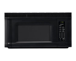 Sharp - 1.4 CF Over the Range Microwave, 950 Watts - 950-watt over the range microwave oven with 1.4 cu. ft. capacity|14.1 inch removable, revolving turntable|5-digit, 2 color, lighted LCD display with interactive word prompts|3 programmable stages|10 variable power levels|Auto-touch control panel with Cook & Reheat Center|Interactive Cooking System with custom help in English, Spanish or French|Defrost Center sets times and power levels for meats and poultry by weight|Minute Plus gives one minute of high cooking at a touch|Keep Warm Plus lets you keep hot foods hot up to 30 minutes after cooking is finished|  sharp| r1405t| r 1405t| over the counter microwave| microwave| over the counter| 950w| 950 watt| 1.4 cu. ft.| lcd display  Package Contents: black microwave|turntable|hardware|manual|warranty  This item cannot be shipped to APO/FPO addresses  Sharp will no longer take back any Sharp product as a DOA.� This includes, TV, A/V Products, and any Sharp Appliances.� Please call Sharp at 1-800-BESHARP for service details.� We will not be able to accept DOA returns on this item.� Please accept our apologies.