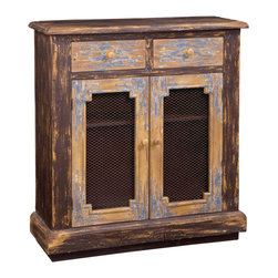 Bassett Mirror Company - Bassett Mirror Easy Living Hotchkiss Chest in Rusticated - Hotchkiss Chest in Rusticated belongs to Easy Living Collection by Bassett Mirror Company Hotchkiss Chest - Rusticated Chest (1)