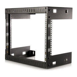 STARTECH.COM - MOUNT YOUR SERVERS, NETWORK AND TELECOMMUNICATIONS EQUIPMENT IN THIS 8U OPEN-FRA - MOUNT YOUR SERVERS, NETWORK AND TELECOMMUNICATIONS EQUIPMENT IN THIS 8U OPEN-FRA