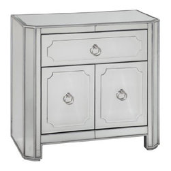 "Basett Mirror - Chapman Side Chest - Chapman Side Chest. 30"" x 17"" x 30""H."
