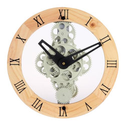 Moving Gear Wall Clocks Clocks Find Traditional And