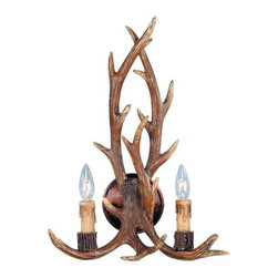 """Savoy House - Savoy House 9-40022-2 Up Lighting Wall Sconce from the Blue Ridge Collection - Blue Ridge Collection 2 Light Bathroom Fixture14""""W x 20""""H x 7-1/2""""E2C 60WCream Drip Candle Covers"""