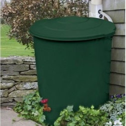 Rescue Deluxe Rain Barrel - You probably learned all about it in 5th grade science class. Rain falls, evaporates, and falls again. You should get in on that action. The Rescue Deluxe Rain Barrel Rainwater Collection System invites you to connect with nature's perfect circle, harvesting pure rainwater for your home and garden. You'll also reduce your water bill by cutting out the municipal middle-man.Simply connect the Rescue Deluxe Rain Barrel to your rain gutter using the provided downspout diverter kit. Through showers or thunderstorms, your rain barrel collects the water that naturally runs off of your roof, filling up after two or three hours. Instead of running into the storm sewers, the precious water stays in your rain barrel, saved up for a sunny day.How you use your fresh, natural water is up to you. Connect a soaker hose, guiding the rain to a thirsty patch of garden. Open the valve at the bottom and fill up a bucket when it's time to wash the car, the dog, or the patio furniture. Or simply lift off the lid, dip in a watering can, and give your rainwater back to nature: water your flowers, fill up a birdbath, or add some moisture to your compost bin. Are the kids going stir-crazy, but insisting it's too hot to play outside? Head to the rain barrel, fill up the squirt guns, and enjoy a spirited water fight while practicing sustainable water usage.About Emsco GroupEmsco Group was founded in 1867, manufacturing practical and innovative things to make life better and easier. While cow pokes and buggy whips have given way to snowboards and garden gadgets, Emsco still holds to the values its founder Theo J. Ely espoused 140 years ago: Innovation, Function, Quality, and Service. Emsco is based in Girard, Pennsylvania.Please note this product does not ship to Pennsylvania.