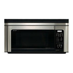 Sharp - R1880LS 1.1 Cu. Ft. Over-the-Range Microwave Oven with 850 Cooking Watts in Stai - The new R-1880LS is Sharps most versatile Over-the-Range microwave oven ever Combining convection cooking with microwave energy its a wonderful second oven This Insight Convection Microwave browns bakes broils crisps and roasts There are automatic se...