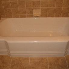 Traditional Bathtubs by J&S Tub & Tile Refinishing