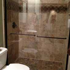 Traditional Bathroom by Sketches, an interior view LLC