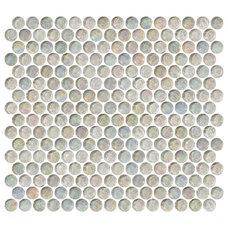 Contemporary Tile by Susan Jablon Mosaics