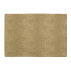 Metallic Gold Coated Khaki Linen Custom Placemat Set - Is your table looking sad and lonely? Give it a boost with at set of Simple Placemats. Customizable in hundreds of fabrics, you're sure to find the perfect set for daily dining or that fancy shindig. We love it in this shimmering solid of gold metallic foil on khaki slubby linen. a chic alternative to standard neutrals that adds depth & sparkle.