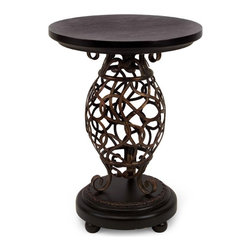 IMAX CORPORATION - Scroll Base Occasional Table - Scroll Base Occasional Table. Find home furnishings, decor, and accessories from Posh Urban Furnishings. Beautiful, stylish furniture and decor that will brighten your home instantly. Shop modern, traditional, vintage, and world designs.