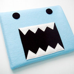 Monster iPad Sleeve by Yummy Pocket - My iPad deserves a happy little cover like this because it keeps my kiddos happy while I get stuff done.