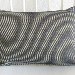 Vintage Dark Blue Cream Pillow by Chic Decor Pillows - Lumbar pillows are my favorite — for their visual appeal and for their comfort. The dot pattern on this one is classic.