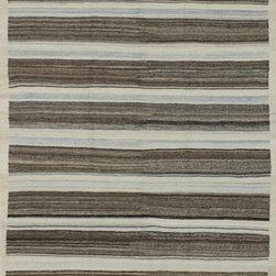 "Afghan Killim - Afghan Killim Hand made Wool Rug 6' 1"" x 8' 10"" - Original Hand made rugs form michael rugs collections"