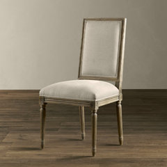 traditional dining chairs and benches by Restoration Hardware