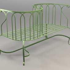 Traditional Patio Furniture And Outdoor Furniture by gardenartisans.us
