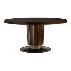Sutton Round Dining Table - Bill Sofield - Baker Furniture -