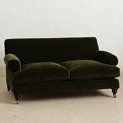 Anthropologie - Willoughby Settee - *Hickory finish