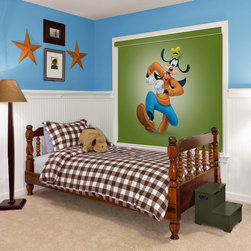 Disney Blackout Window Shades - Bring the magic of Disney to your home with our Disney blackout roller shades. From Mickey Mouse to Donald Duck we have you and your windows covered. Available on-line only at Selectblinds.com the Disney blackout roller shades will provide a calm and relaxing environment during nap time. Disney blackout roller shades are custom made with a child safety cordless lift system. Our popular Cassette option adds the perfect finishing touch to your window while concealing the roller and completing your cherished Disney classic.