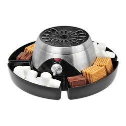 Kalorik - Indoor S'mores Kit - Everyone loves s'mores, but if you're not camping every weekend, it can be hard to find a time to enjoy them. Thankfully, with this nifty tool you don't have to brave the wilderness to get your hands on the delicious snack. It even comes with a set of four stainless steel forks, so everyone can roast a marshmallow to their own preferred stage of gooey.