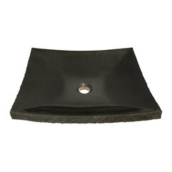 MR Direct - MR Direct 855 Shanxi Black Vessel Sink - Our stone sinks and matching stone waterfall faucets are available in a variety of colors to fit any decor. Our line of stone sinks and matching stone waterfall faucets are very durable and add natural beauty to your bathroom. The sinks are carved from natural stone blocks and polished by hand. This process gives the sink a smooth easy to clean finish. The stone will not absorb odor or stains which makes the sink extremely low maintenance and more sanitary than other sink materials. Our stone sinks and matching stone waterfall faucets are covered by a limited lifetime warranty.