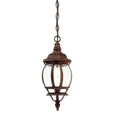 Contemporary Outdoor Hanging Lights by Home Depot