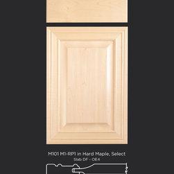 Maple Raised Panel Cabinet Door Style - Maple raised panel cabinet doors
