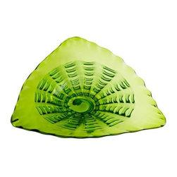 Small Leafy Echo Plate - Small Leafy Echo Plate