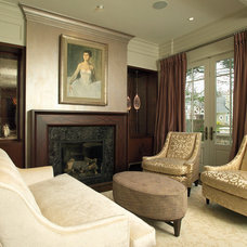 Traditional Family Room by Studio H Design