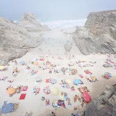 Mediterranean Artwork Praia Piquinia 28/08/10 12h20 Print by ChristianChaize