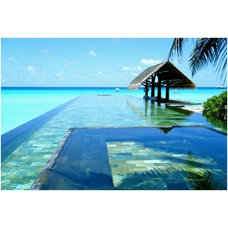 World's Ten Scenic Infinity Swimming Pools Paradise Pool, Maldives – 1000FunFact