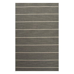 Jaipur - Contemporary C. L. Dhurries 10'x14' Rectangle Stone Gray Area Rug - The C. L. Dhurries area rug Collection offers an affordable assortment of Contemporary stylings. C. L. Dhurries features a blend of natural Stone Gray color. Flat Weave of 100% Wool the C. L. Dhurries Collection is an intriguing compliment to any decor.