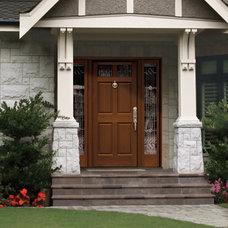 Modern Front Doors by Tru Tech Doors