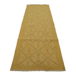1800GetARug - Hand Woven Soft Colors Flat Weave Soumak Runner Sh7113 - About Flat Weave