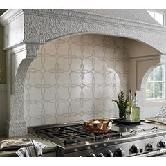 eclectic kitchen tile by Cabochon Surfaces & Fixtures
