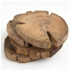 Rustic Coasters by Poketo