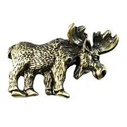 Sierra Lifestyles - Moose Pull - Antique Brass (SIE-681407) - Moose Pull - Antique Brass