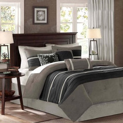 Madison Park Palmer Dakota 7 Piece Comforter Set