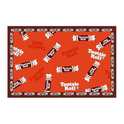 Fun Rugs - Candy Kids Rug - Your child's room is a natural extension of them. Add these innovative designs to spruce up any child's decor.