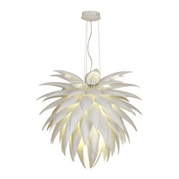 """Possini Euro Design Icicle Leaf Chandelier 