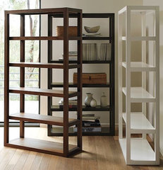 modern bookcases cabinets and computer armoires by West Elm