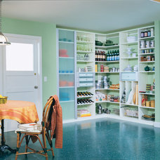 Contemporary Pantry by California Closets