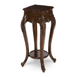 "AICO Furniture - ""Michael Amini"" Discoveries 4-Leg Flower Stand - Features:"