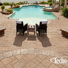 Contemporary Swimming Pools And Spas by Techo-Bloc