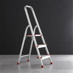 Polder 3-Step Ladder - A small step ladder is a necessary tool because it will help you reach all those upper shelves you want to store winter things on and those high parts of the house you need to dust. You don't need a tall one (unless you live in a home with high ceilings, lucky you!), so a three-step ladder is the perfect size.