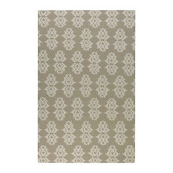 Uttermost Saint George Area Rug - A Moroccan-inspired Ikat pattern in off-white gives the Uttermost Saint George Area Rug its contemporary style. An ideal style foundation for your space, this area rug has just the look you desire. It's flat-woven of 100% wool and comes in your choice of elegant colors and a variety of size options. About UttermostThe mission of the Uttermost Company is simple: to make great home accessories at reasonable prices. This has been their objective since founding their family-owned business over 30 years ago. Uttermost manufactures mirrors, art, metal wall art, lamps, accessories, clocks, and lighting fixtures in its Rocky Mount, Virginia, factories. They provide quality furnishings throughout the world from their state-of-the-art distribution center located on the West Coast of the United States.