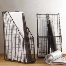 Eclectic Magazine Racks by See Jane Work